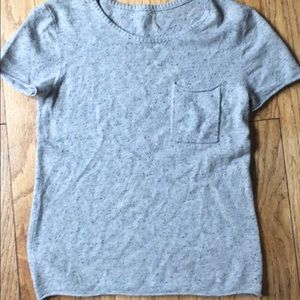 Wool and Cashmere 7 for all Mankind sweater tee